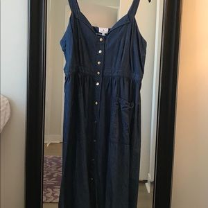 Draper James Chambray dress from Eloquii